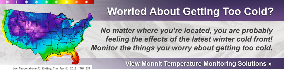 Beat the Cold Weather with Monnit Remote Temperature Monitoring Solutions