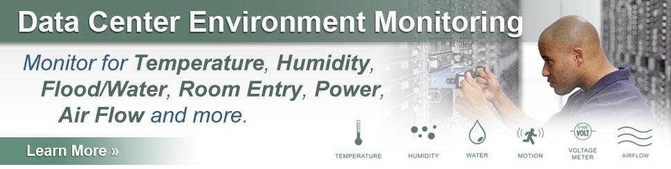 Data Center Environment Monitoring