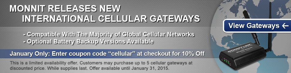 Monnit Releases New International Cellular Gateways