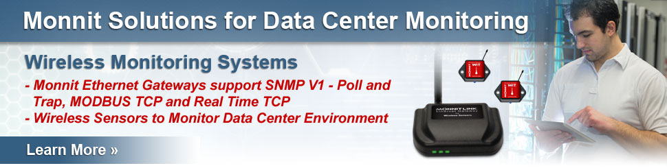 Data Center Environment Monitoring
