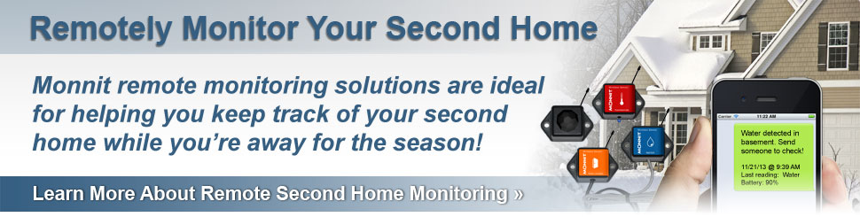 Monitoring Solutions for Second Homes