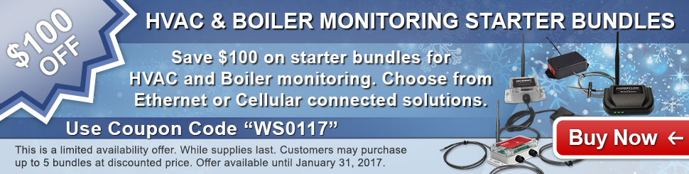 Monnit Monthly Web Special - January 2017