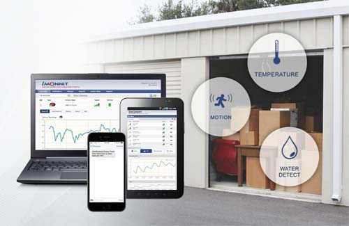Monnit Remote Monitoring Solutions for Self Storage Facilities