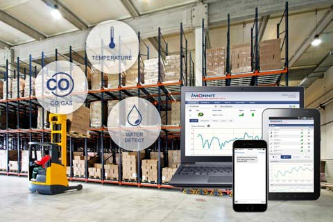 Monnit Sensor for Warehouse Monitoring