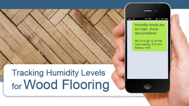 Humidity Monitoring for Wood Floors
