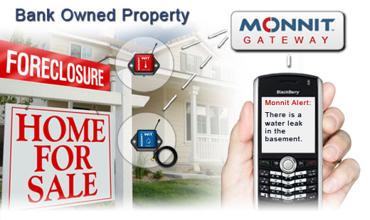 Monnit Wireless Sensor Solutions for Foreclosed Properties