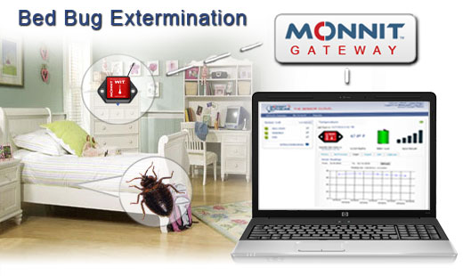 Monnit Wireless Sensor Solutions for Bed Bug Extermination