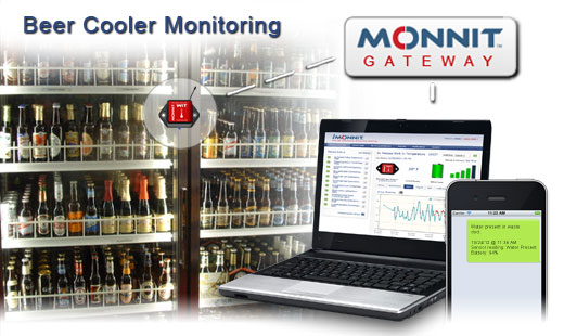 Monnit Wireless Sensor Solutions for Beer Cooler Temperature Monitoring