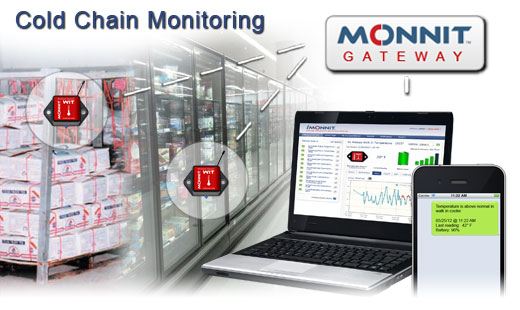 Monnit Wireless Sensor Solutions for Cold Chain Temperature Monitoring