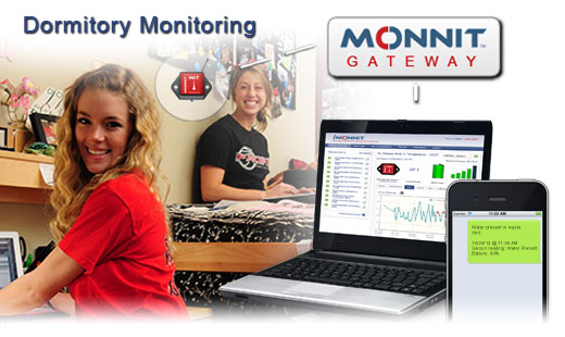 Monnit Wireless Sensor Solutions for Monitoring College Dorms