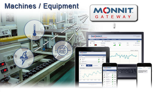 Monnit Wireless Sensor Solutions to Monitor Machines, Motors and Equipment