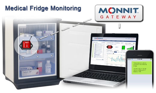 Monnit Wireless Sensor Solutions for Medical Fridge Temperature Monitoring