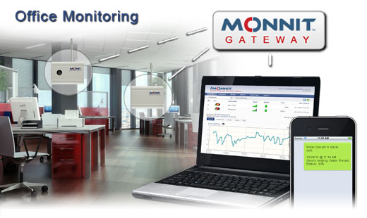Monnit Wireless Sensor Solutions for Office Monitoring and Management