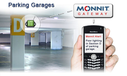 Monnit Wireless Sensor Solutions for Parking Garages