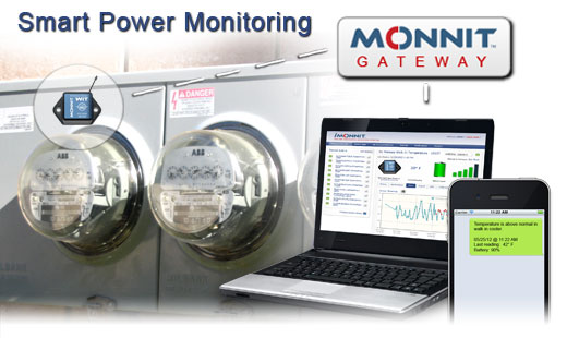 Monnit Wireless Sensor Solutions for Smart Power Monitoring