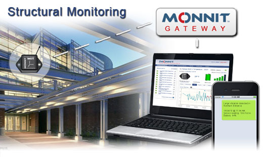 Monnit Wireless Sensor Solutions for Structural Monitoring