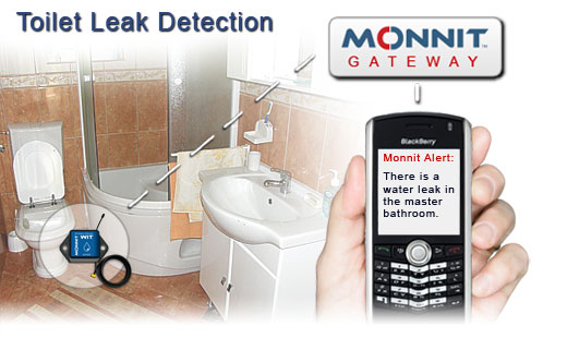 Monnit Wireless Sensor Solutions for Toilet Water Leaks and Notifications