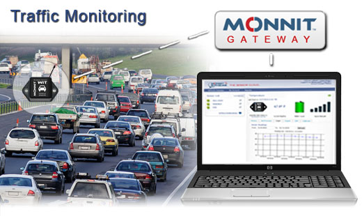 Monnit Wireless Sensor Solutions for Monitoring Traffic