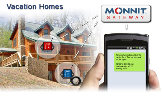 Monnit Wireless Sensor Solutions for Vacation Home Monitoring