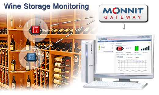 Monnit Wireless Sensor Solutions for Wine Storage Monitoring