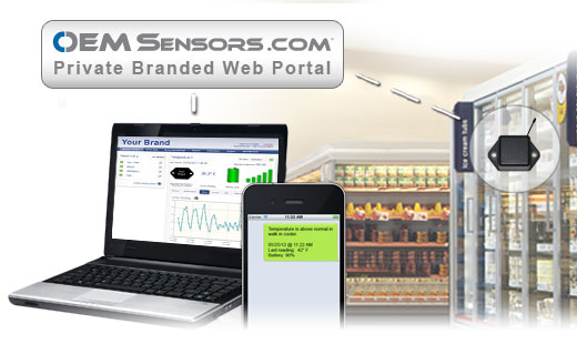 Monnit OEM Sensors Solutions for Commercial Refrigeration