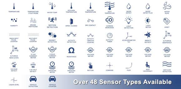 Monnit - Currently Provides Over 48 Different Wireless Sensor Types