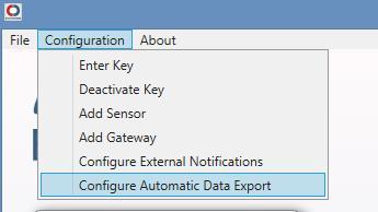 Configure Express Export