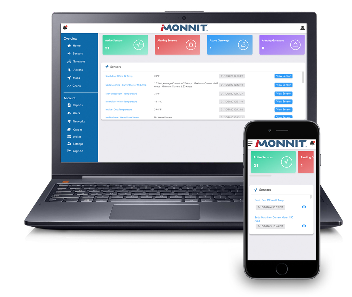 iMonnit Premiere Online Monitoring