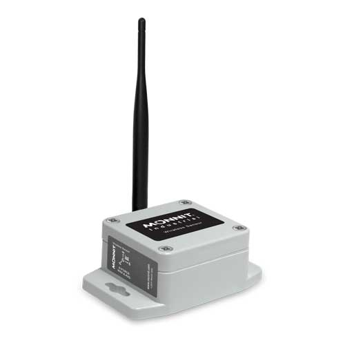 Monnit Industrial Wireless Accelerometer - G-Force Max and Avg