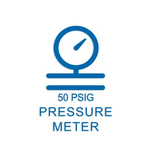 Wireless Pressure Sensors - 50 PSIG