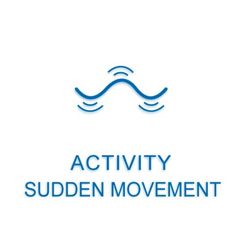 Monnit Wireless Activity - Sudden Movement Sensor