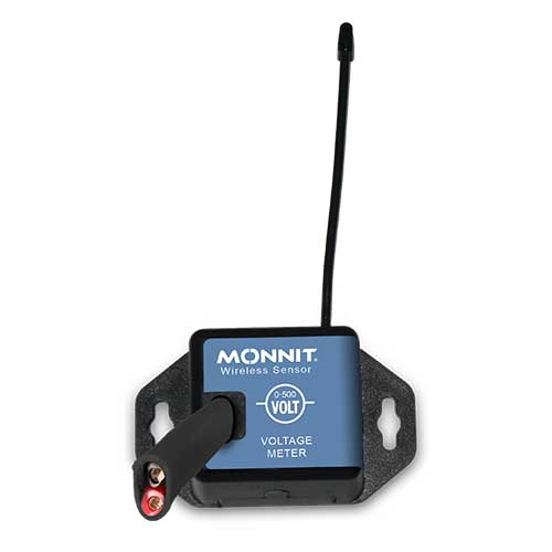 Monnit Wireless Voltage Meters - 0-500 VAC/VDC - Commercial Coin Cell Powered